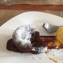 desserts au chocolat au sud de la plage