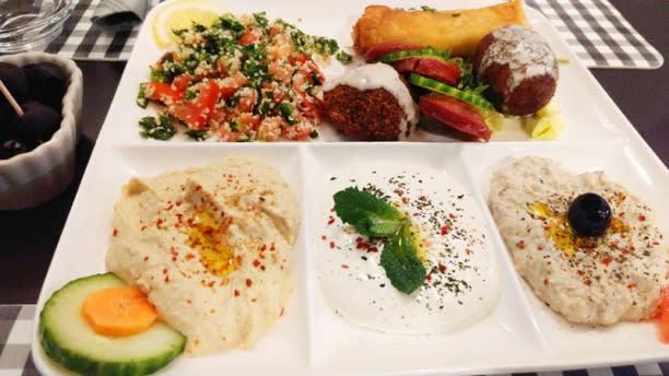 Le Mezze Niort In Niort Restaurant Reviews Menu And Prices