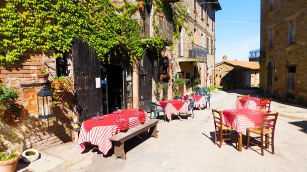 Ovvio Tavoli Da Giardino.Trattoria Di Campagna Borgo Cenaioli In Magione Restaurant