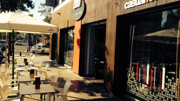 Restaurante Zas De La Mesa A La Boca En Valencia
