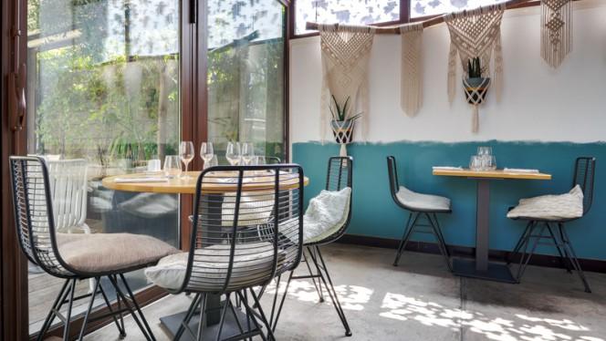 Salle du restaurant - La Table Cinq, Marseille