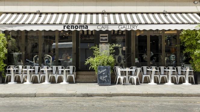 L'entrée - Renoma Café Gallery, Paris