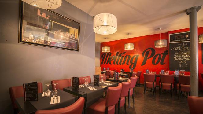 Salle du restaurant - Le Melting Pot, Paris
