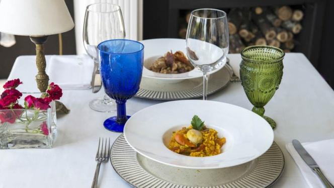 Sugerencia de plato - Quinta de San Amaro - Hotel,