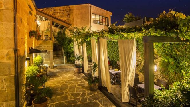 Vista entrada - Quinta de San Amaro - Hotel,