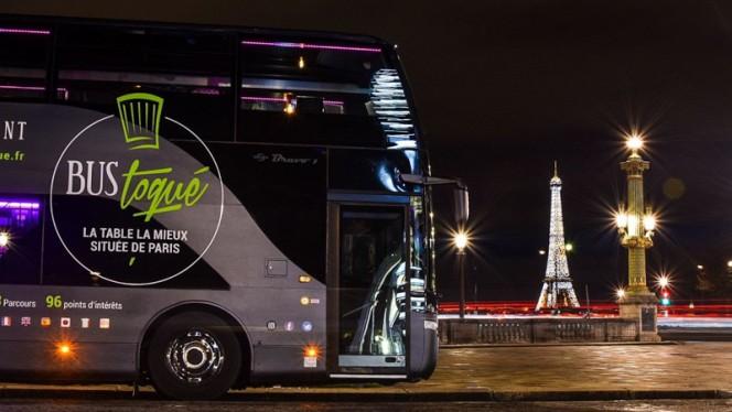 Bus toque et la tour eiffel - Bus Toqué, Paris