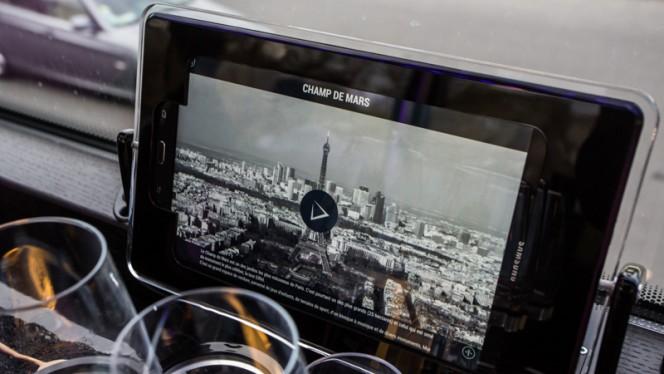 Notre application en géolocalisation - Bus Toqué, Paris