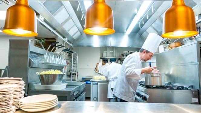 Aperçu de la cuisine - Aux Armes de Bruxelles, Brussels