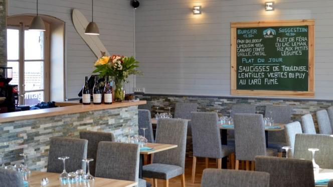 salle de restaurant - L'Alpage, Écully