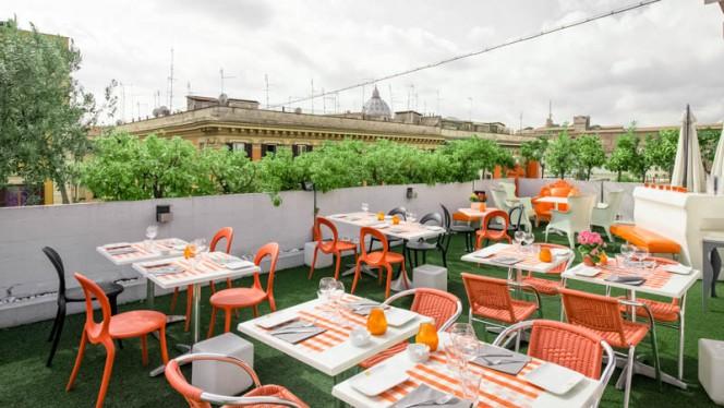 terrazza - Trattoria sul Tetto, Rome