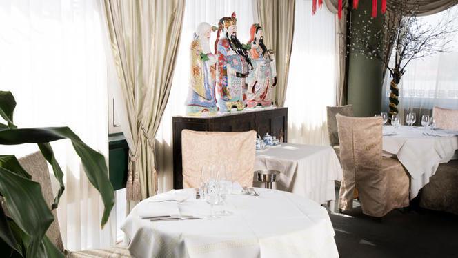 Salle du restaurant - Fook Moon, Lausanne
