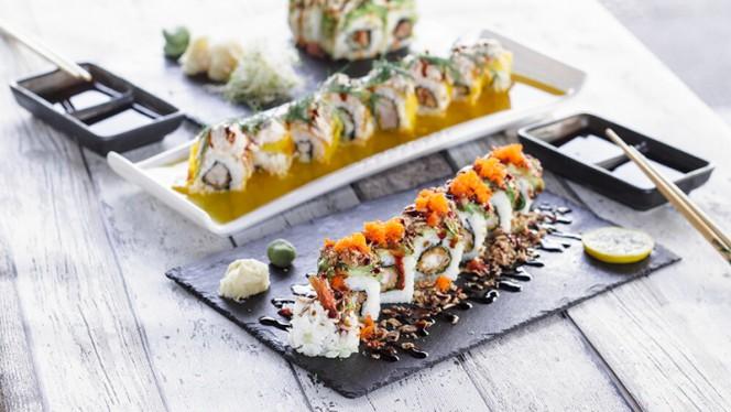 Dragon roll - Home Sushi, Lyon
