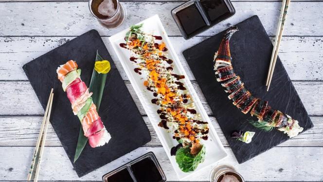 Roll de création - Home Sushi, Lyon