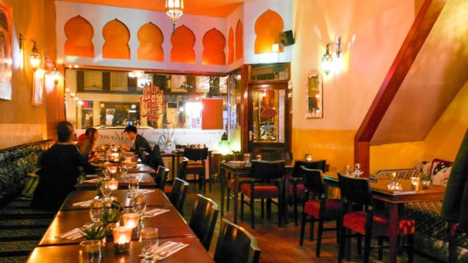 restaurantzaal - Paloma Blanca, Amsterdam
