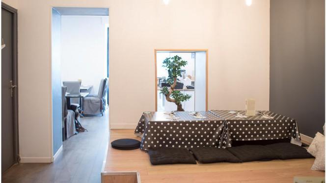 """La salle """"Zen"""" - Bibimbox, Nantes"""