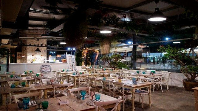 Vista sala - Match Restaurant & Pizza, Rome