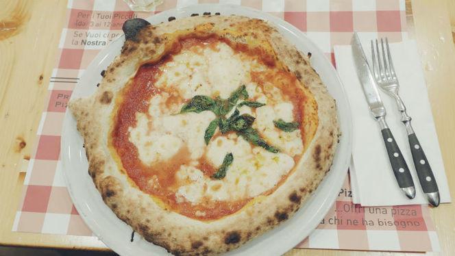 Pizza margherita - Pizza e Tata, Rome