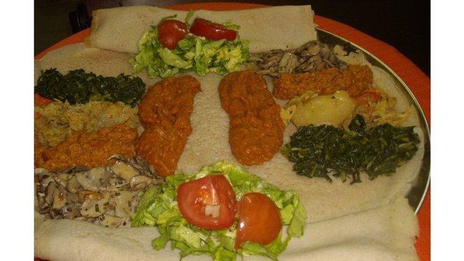 Piatto tipico africano - Adulis, Milan