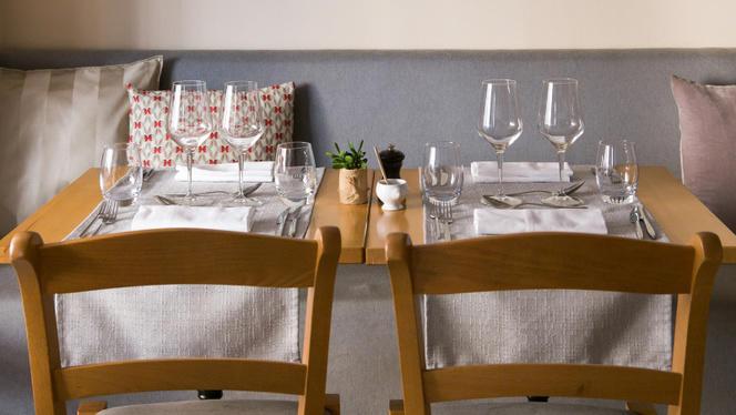 Tables dressées - La Roustide, Nice