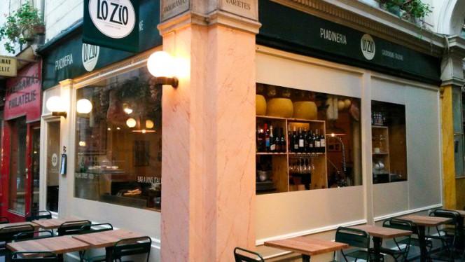 Façade du restaurant - Lo Zio, Paris