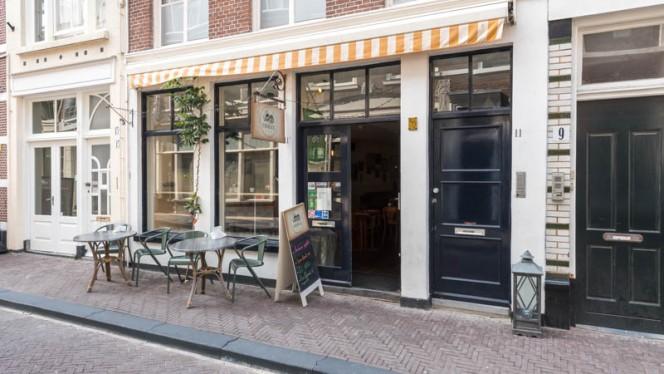 Ingang - Foodies Lab, Den Haag