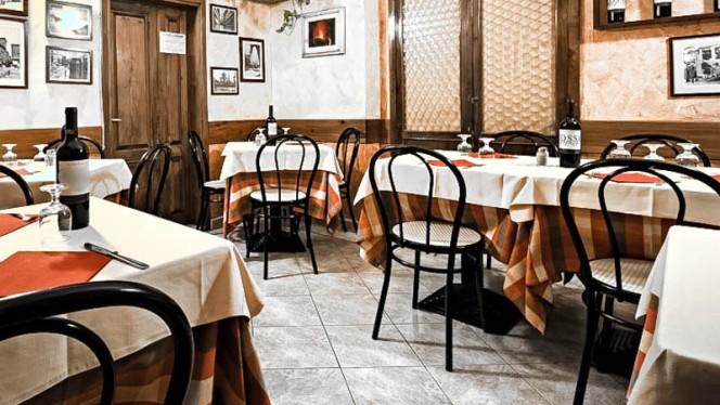 sala - La Trattoria il Bargello, Firenze