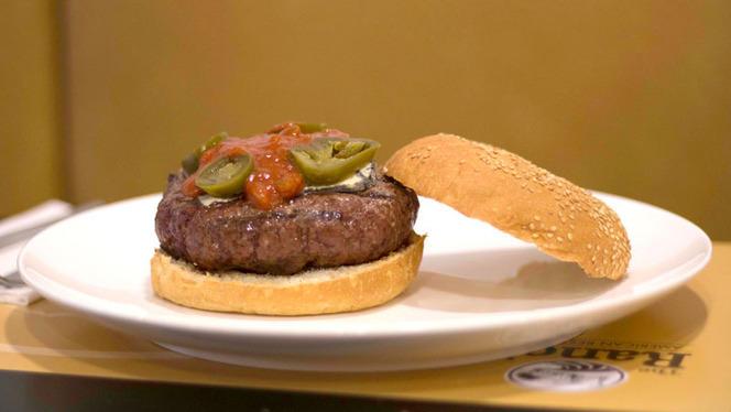Detalle hamburguesa - The Ranch, Madrid