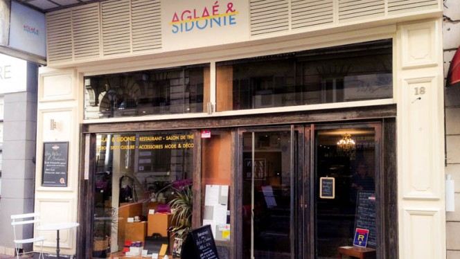 Devanture et vitrine - Aglaé & Sidonie, Marseille