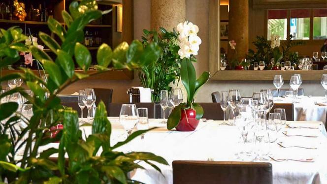 Sala del ristorante - Piazza Repubblica, Milan