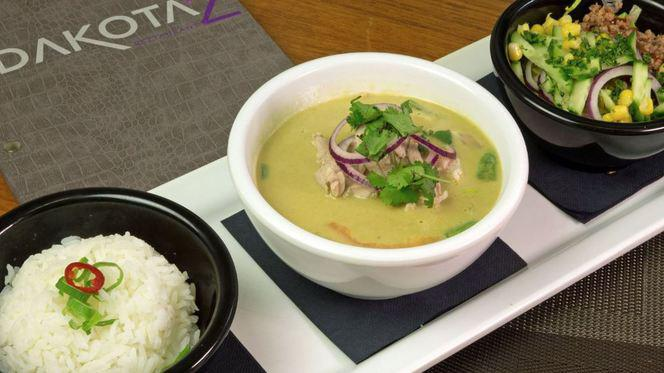 Thaise groene curry - Dakota'z, Roosendaal