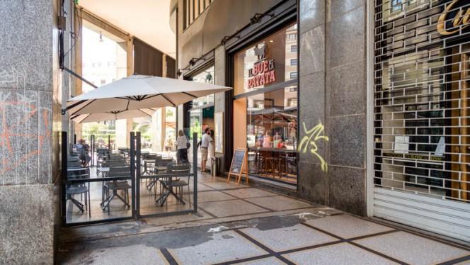 Entrata - Il Bue e La Patata - Diaz, Milan