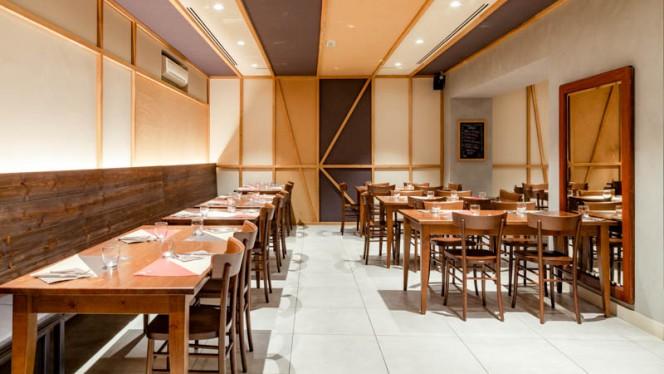 Veduta dell interno - Il Bue e La Patata - Diaz, Milan