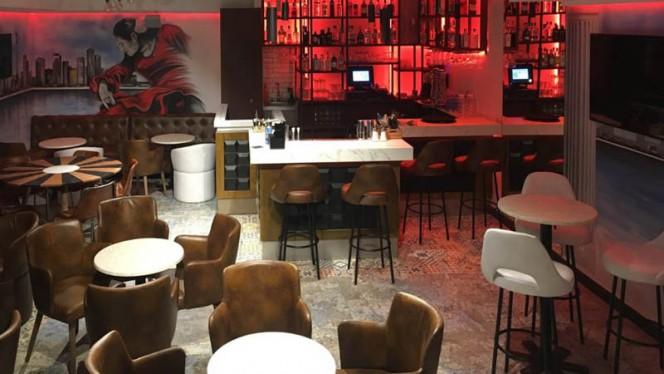 Vista de la sala - La Chirigota Brasil Food, Barcelona