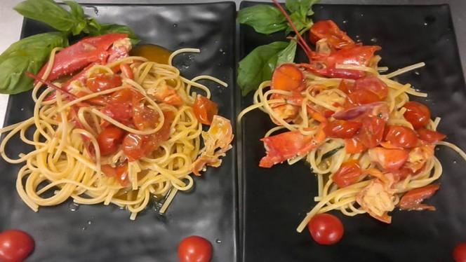 Tagliolini con Astice - Ristorante Boccuccia, Anzio