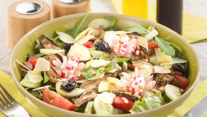 Salade de courgette confites - La Table des Saisons, Aix-en-Provence