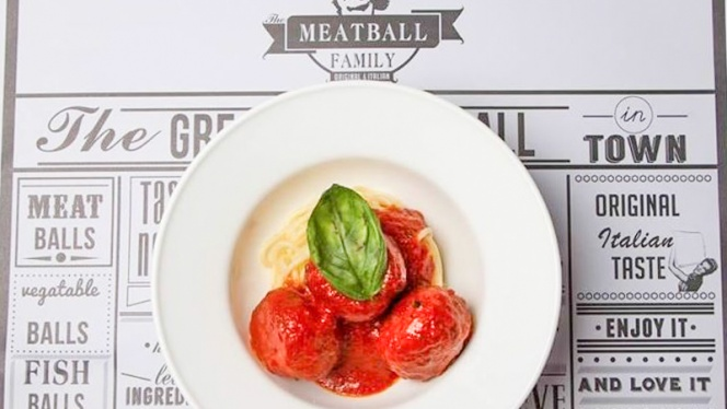 vista del piatto - The Meatball Family, Milano