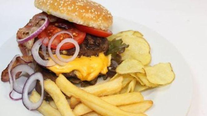 piatto speciale - Taste Good Hamburgeria Italiana, Rome
