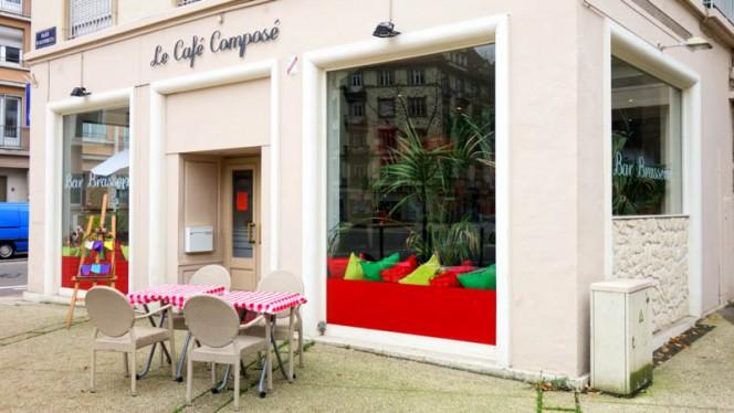 Façade du restaurant - Le Café Composé, Strasbourg