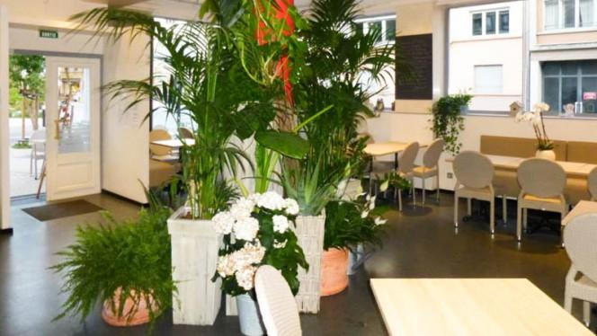 Salon du restaurant - Le Café Composé, Strasbourg