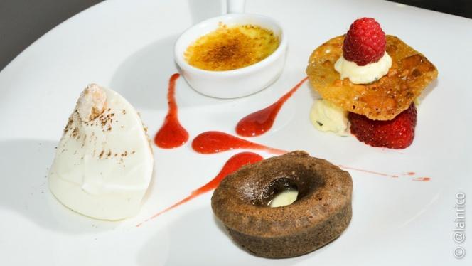 Desserts - Bateau Bellona, Lyon