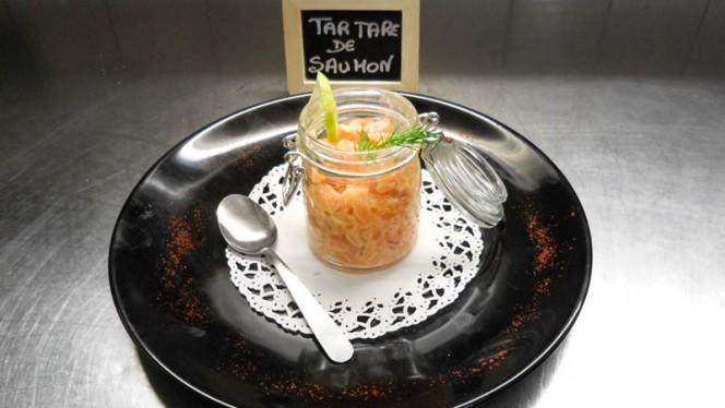 Tartare saumon - Brasserie Le Commerce, Lyon