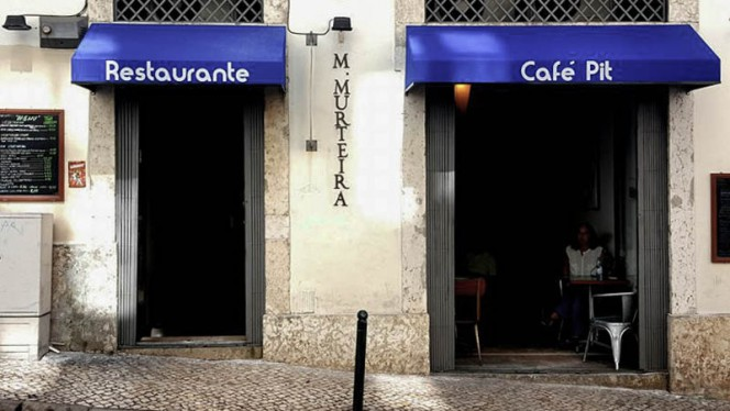 Fachada - Café Pit, Lisboa