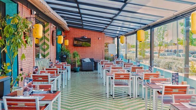 vista sala - SushiCome Las Tablas, Madrid