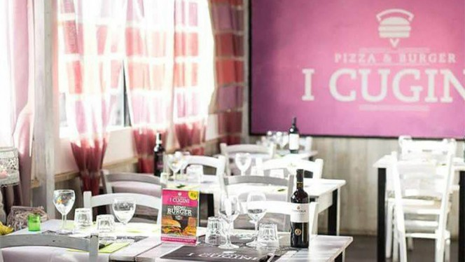 Vista sala - Pizza e Burger I Cugini, Rome