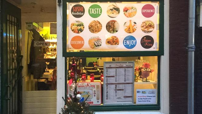 Het restaurant - Asian King, Amsterdam