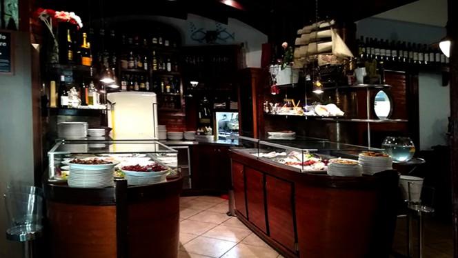 Particolare sala - Il Brigantino cucina di mare, Milan