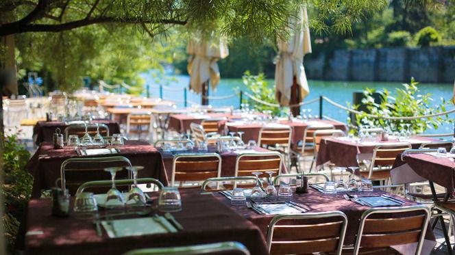 Tables dressées - Le Buldo, Lyon