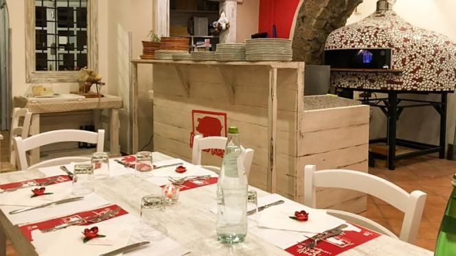 Sala del ristorante - Porco Rosso,