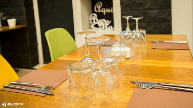 Table dressée - Aqui Ba Pla, Lille