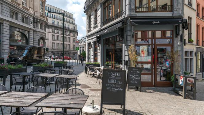 Terrasse - Chez Gudule, Brussels